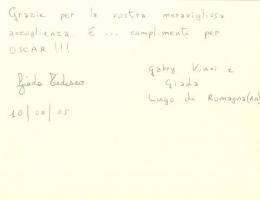 Lugo di Romagna (RA). 1 pg